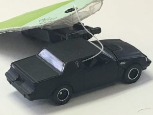Buick Grand National flat black with designers tag Bruce Baur prototype 6