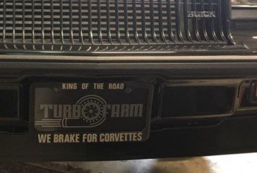 Aftermarket License Plate Frames For Turbo Regals