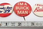 Vintage Buick Pinback Buttons