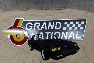 Custom Metal Buick Grand National Signs