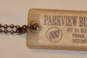 Vintage Buick Dealership Key Rings