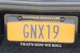 Vanity Plates Found on Buick GNX Cars!
