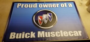 proud buick owner banner