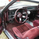 Turbo Regal Red Interiors