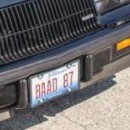 Personal License Plates on Regal G-body