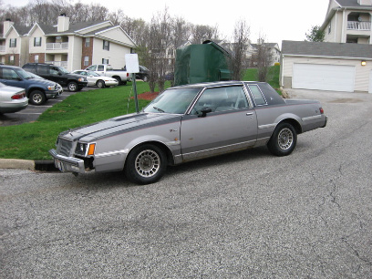 1983 Buick Regal two tone