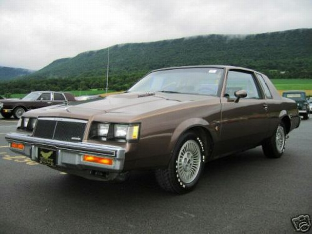 two tone 1984 buick limited