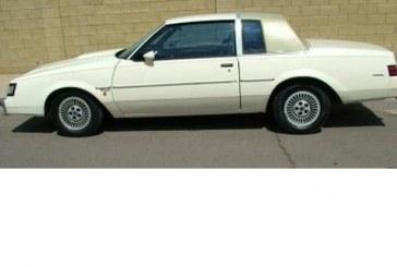 1984 Buick Regal T Type Beige