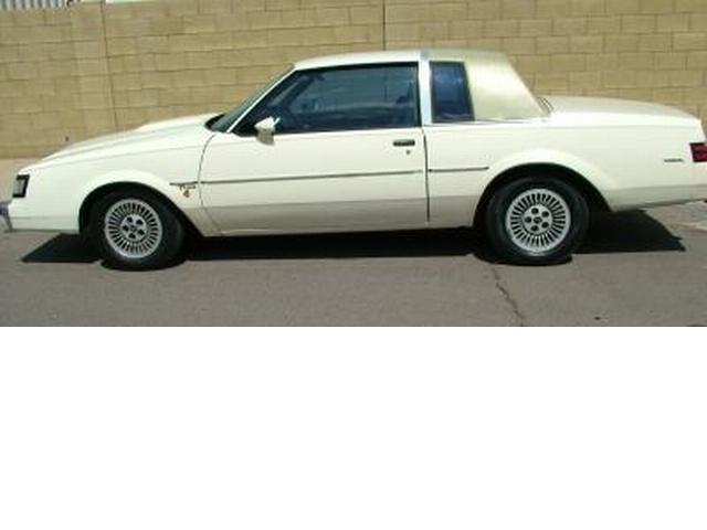 beige 1984 buick t-type