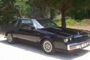 1984 Buick Regal T Type Black