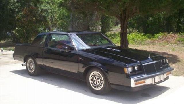 black 1984 buick t-type