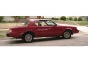 1984 Buick Regal T Type Dark Red