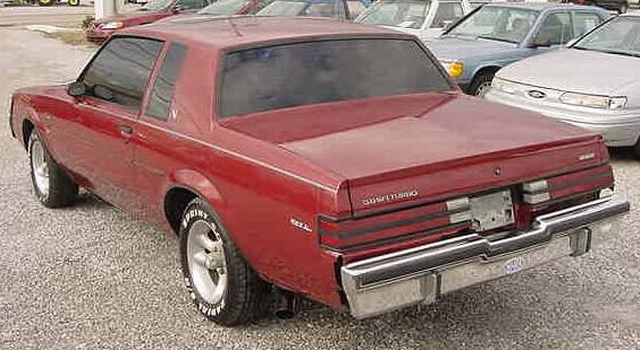 red 1984 buick t-type