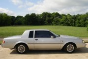 1984 Buick Regal T Type Silver