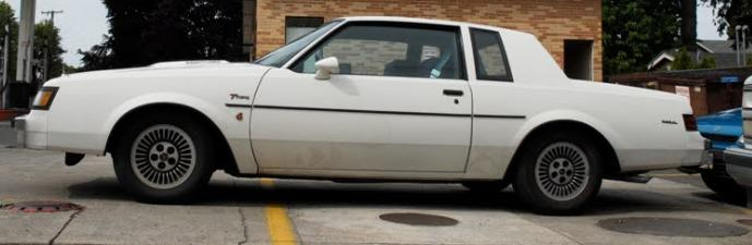1984 buick t type white