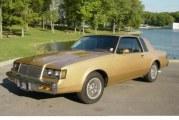 1985 Buick Regal T Type Light Brown Metallic