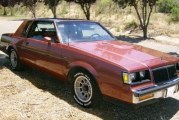 1986 Buick Regal T Type Rosewood Metallic