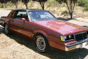 1986 Buick Regal T Type Rosewood Metallic