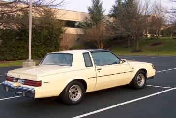 1986 Buick Regal T Type Cream Beige