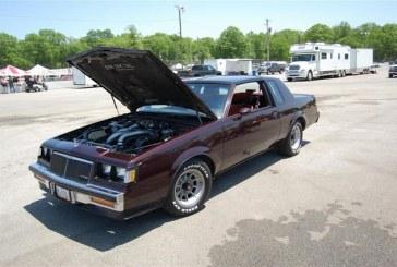 1986 Buick Regal T-Type Dark Red Metallic