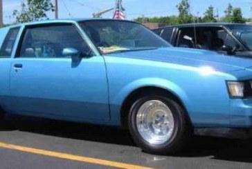 1986 Buick Regal T Type Light Blue Metallic
