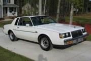 1986 Buick Regal T Type White