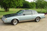 1987 Buick Regal Limited Two Tone Dark Blue / Light Blue
