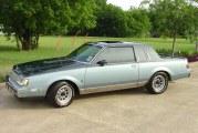1987 Buick Regal Limited Two Tone Dark Blue / Light Blue