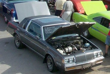 1987 Buick Regal Limited Gray Metallic