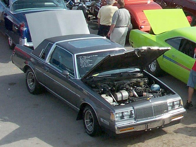 gray buick limited