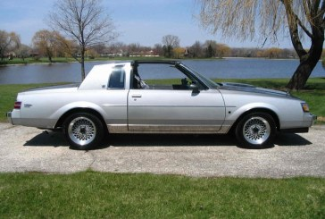 1987 Buick Regal Limited Two Tone Gray / Silver