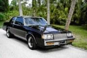 1987 Buick Regal Turbo T Black