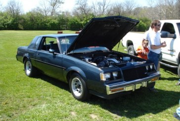 1987 Buick Regal Turbo T Dark Blue Metallic