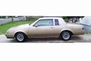 1987 Buick Regal Turbo T Light Brown Metallic