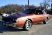 1987 Buick Regal Turbo T Rosewood Metallic