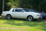 1987 Buick Regal Turbo T White