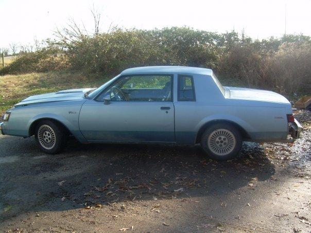 1985 regal t type blue