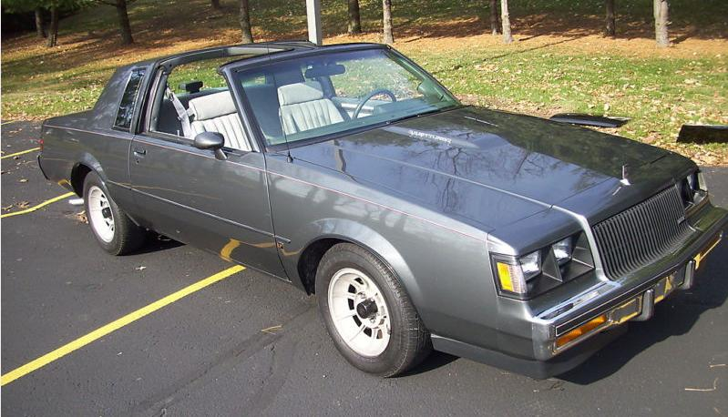 1987 regal turbo t grey