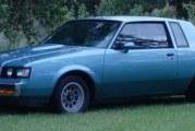 1987 Buick Regal Turbo T Light Blue Metallic