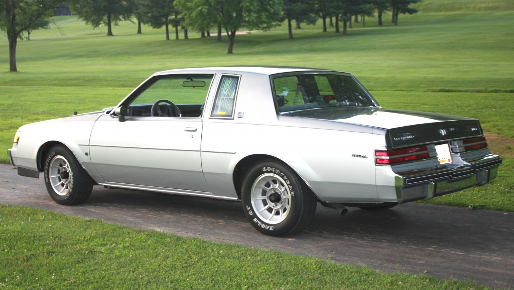 1987 buick regal D84