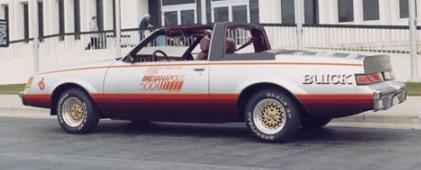 1981 indy 500 pace car buick regal