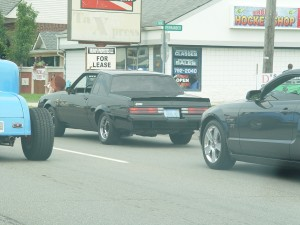 cruising in a Buick Grand National