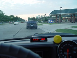 cruising woodward in a buick grand national