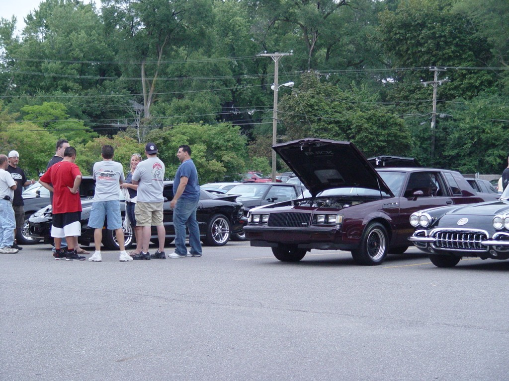 turbo buick car show
