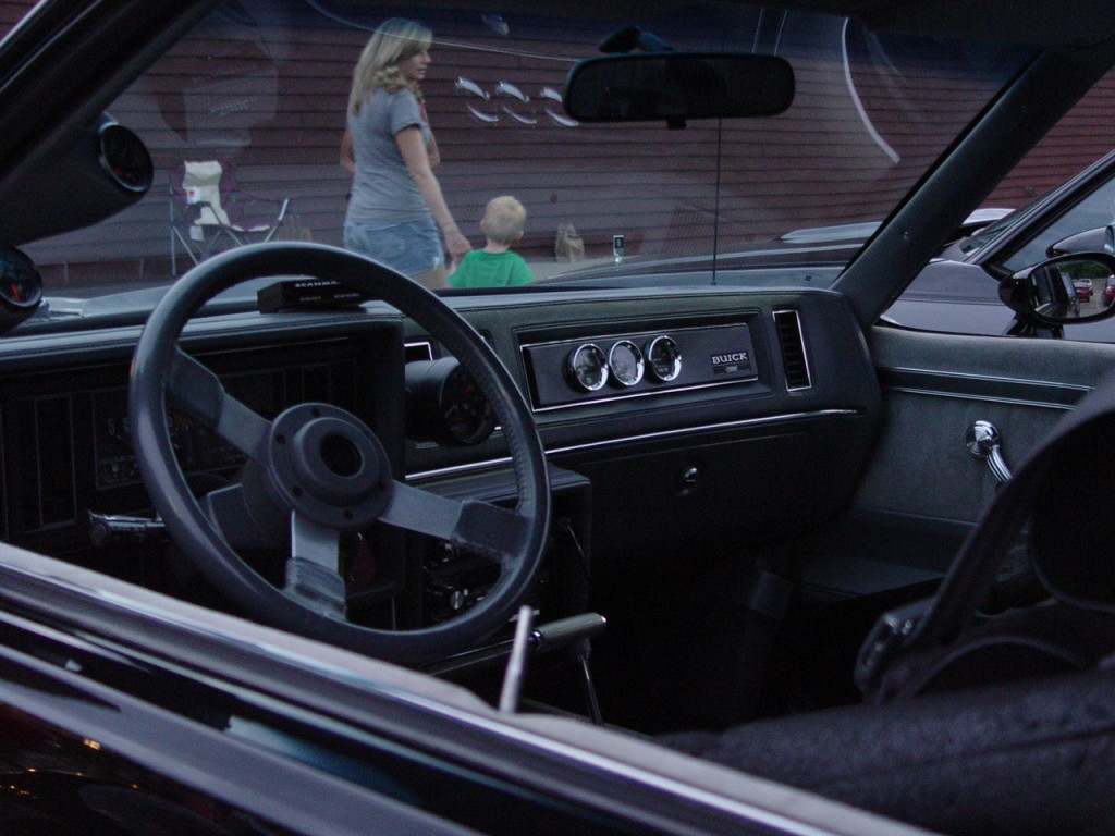 inside a buick grand national