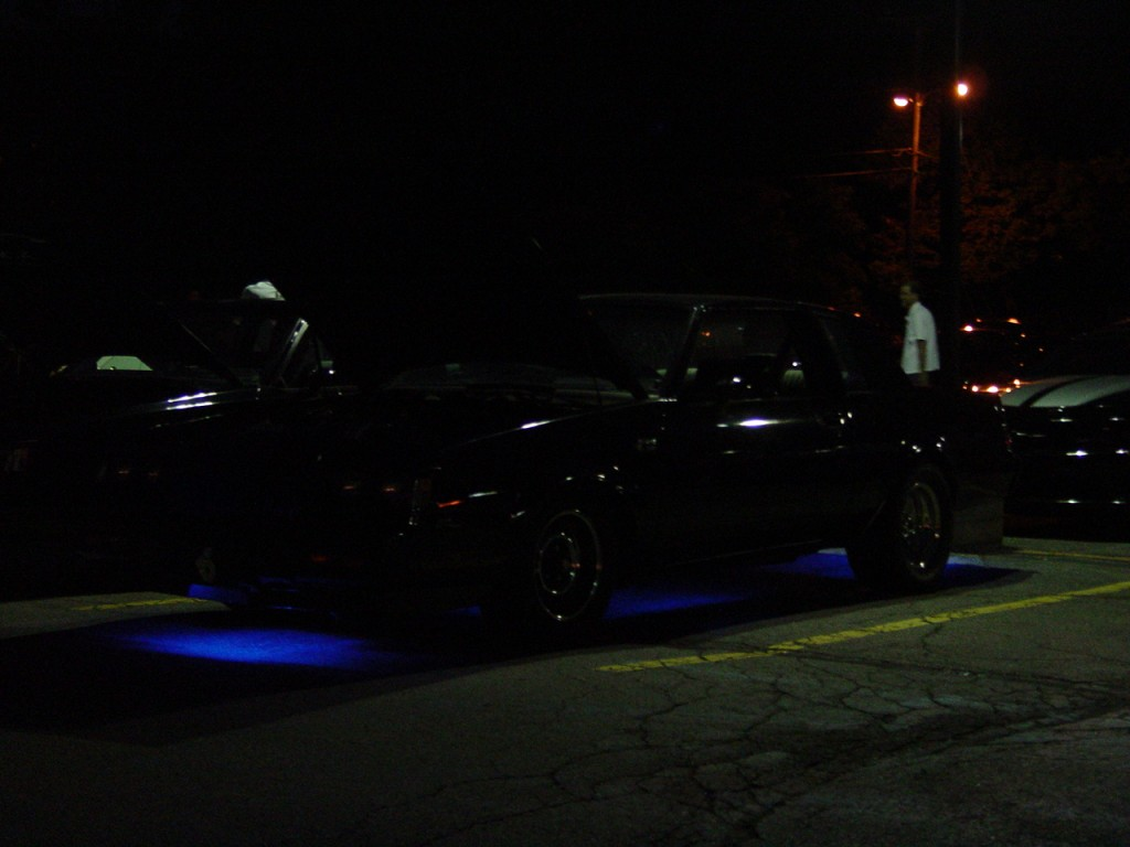 buick regal neon lights