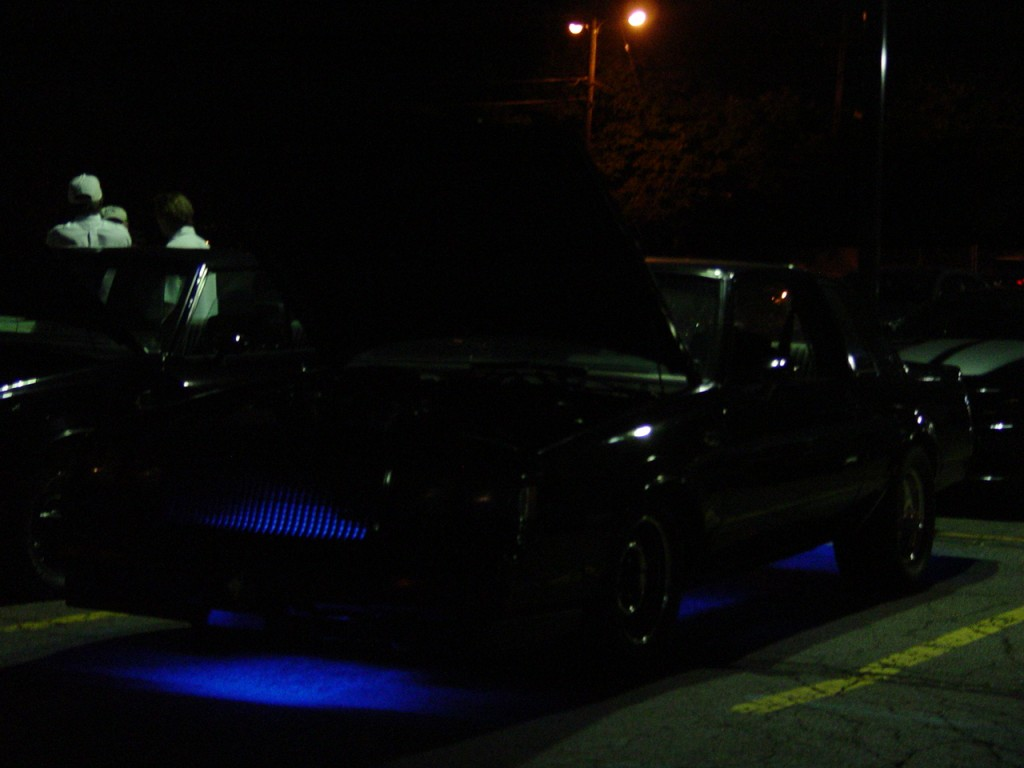 blue neon lights buick grand national