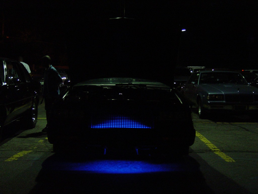 turbo buick under car lights