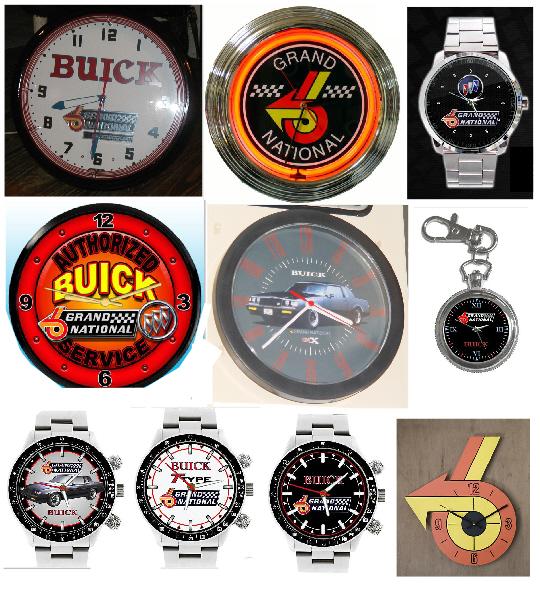 buick grand national clocks