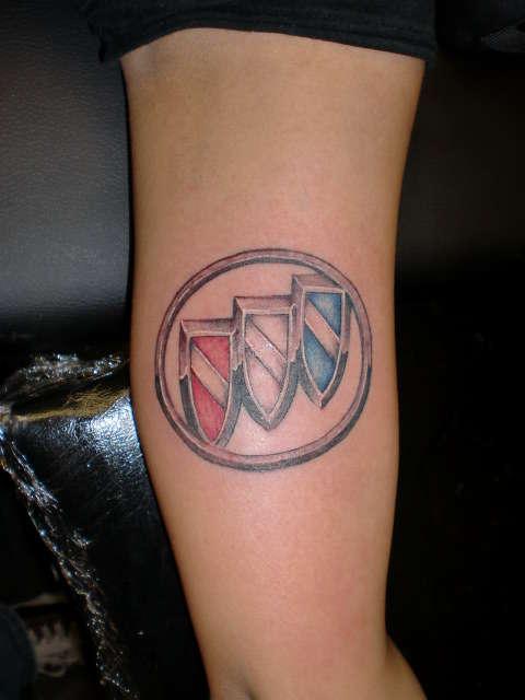 buick emblem tattoo